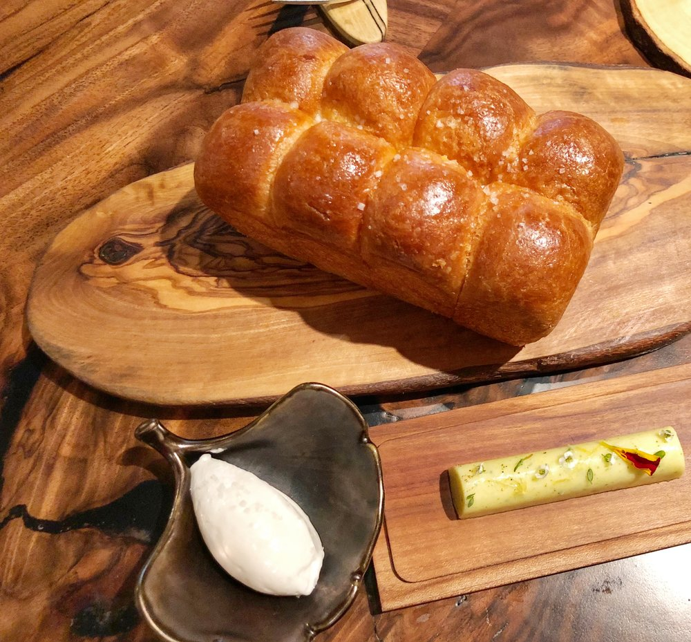 "Brioche & House-made butter - No verse for bread?! We shall write one:""Oh bread, for you my heart beats""Alternate verse: Brioche with butter? Enough said."