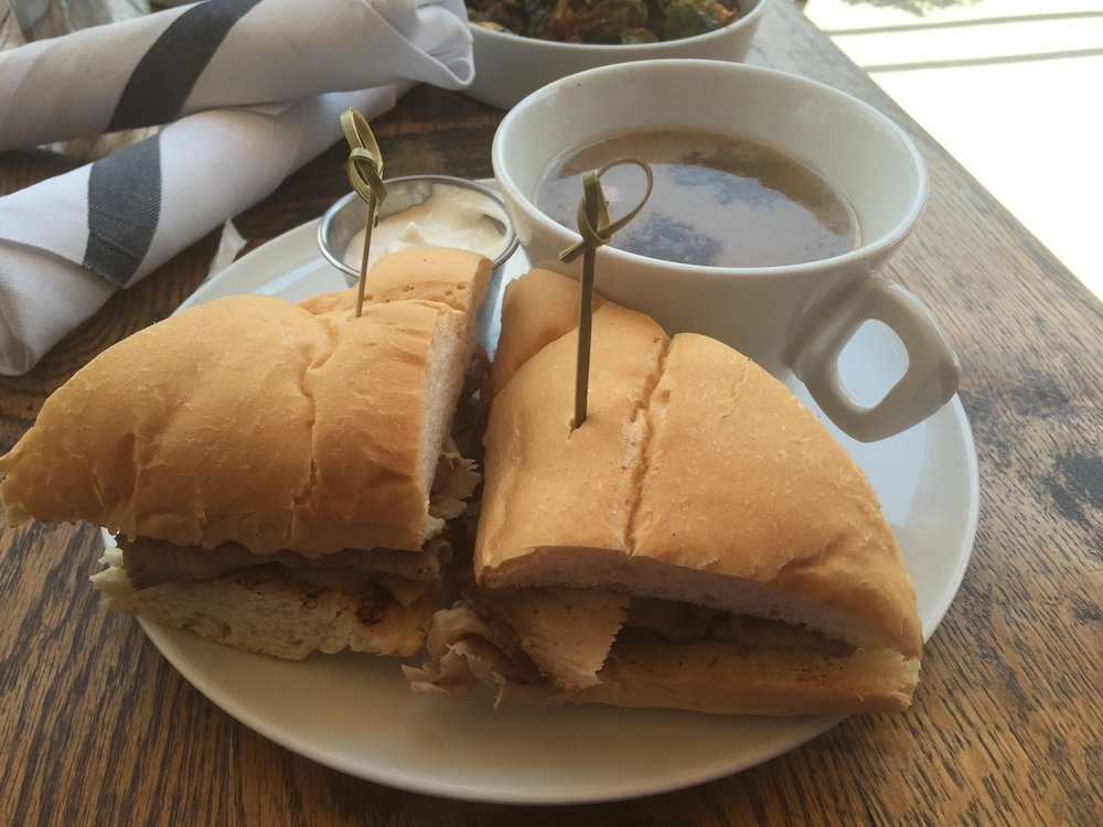 French Dip - With au jusAnother special from May 2016. Just okay.