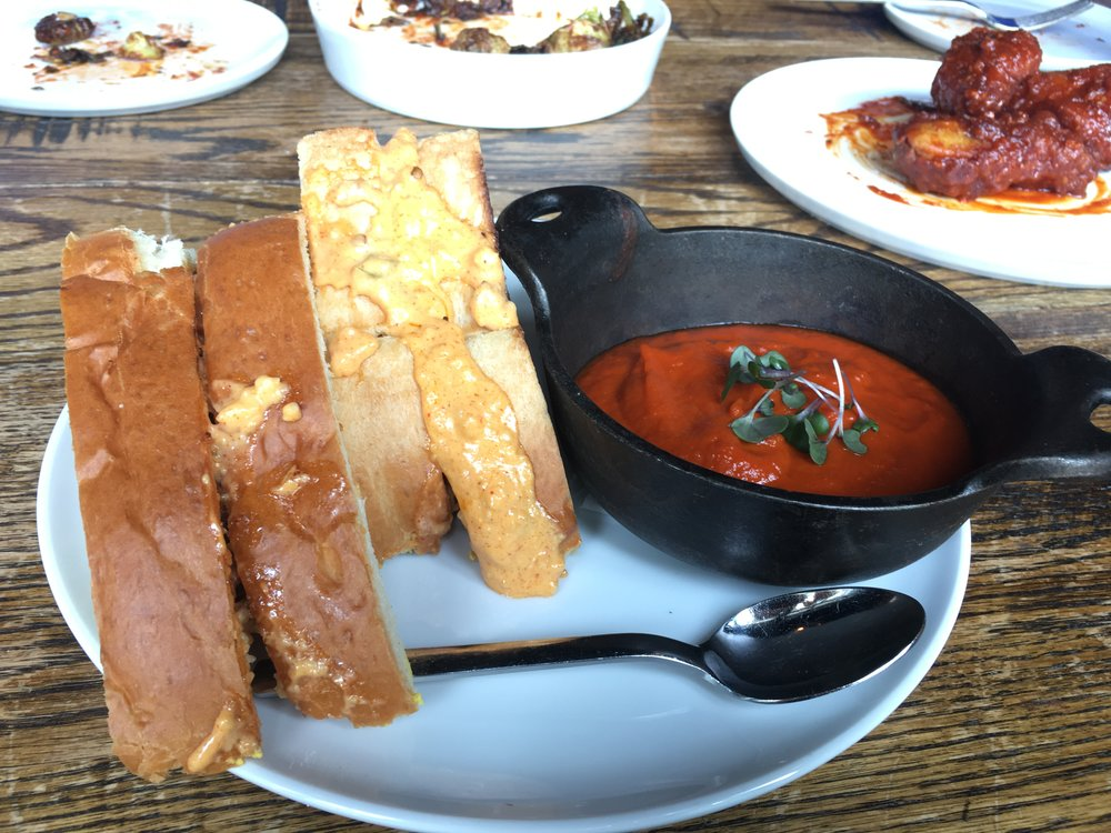 Grilled Cheese & Tomato Soup - A special from May 2017. The grilled cheese was good, but the tomato soup lacked seasoning. Are you seeing a pattern?
