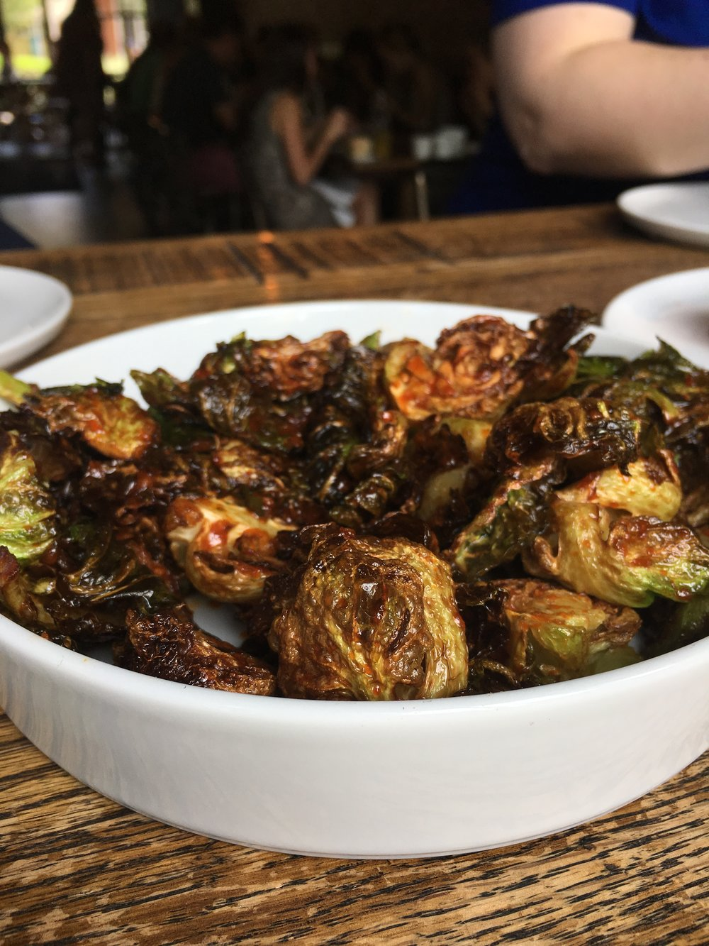 Korean Brussels Sprouts - Fried brussels sprouts, gochujang vinaigretteAnother solid staple. We've never been let down by these bad boys.