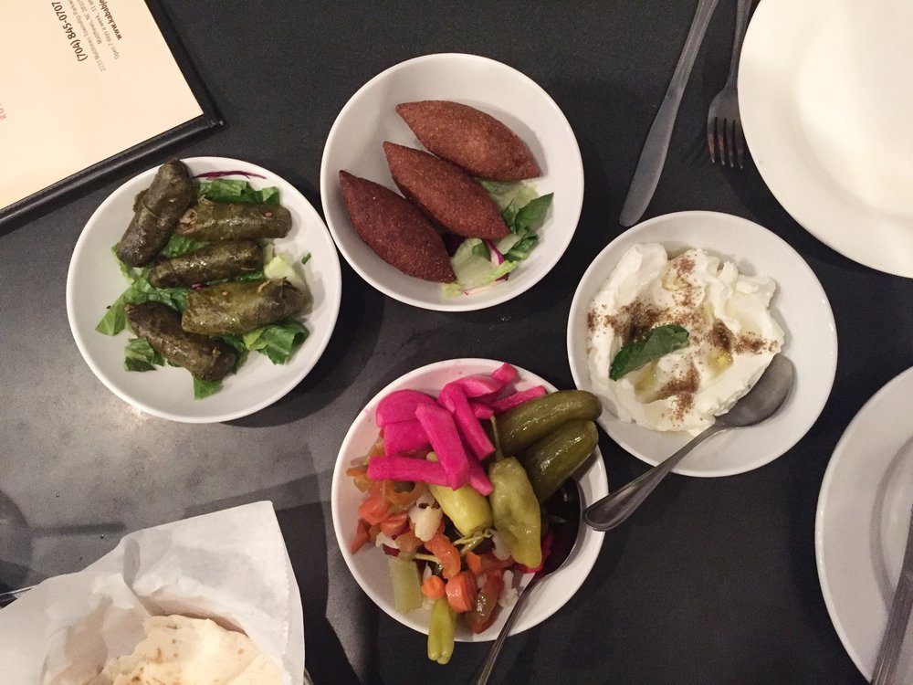 7. Kabab Je - Ever since Kabob Grill closed (RIP), Kabab Je holds the title of best Mediterranean food in town. The pita. THE PITA. It's the best. Sorry, Yafo. Get the lamb kabob and lots of sides.