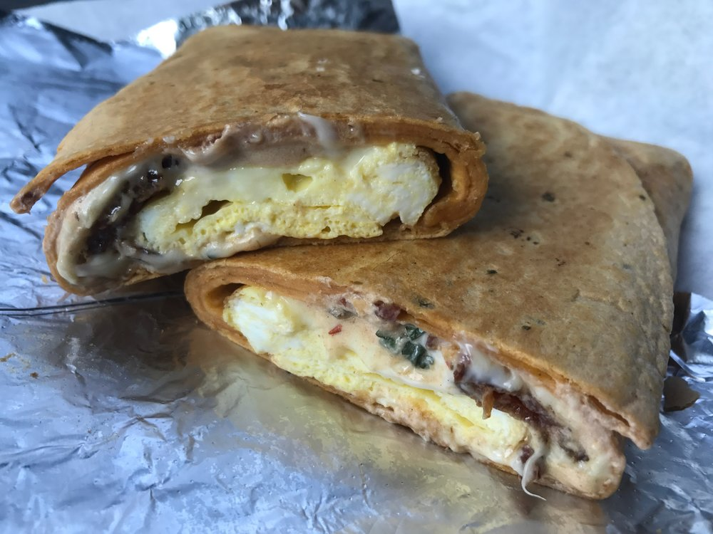 25. Laurel market - Laurel Market has the Charlotte breakfast sandwich game wrapped up, and they are all between 4-6 dollars. We especially love the Mercado, which is bacon, egg, and pepper jack cheese with spicy chipotle spread.
