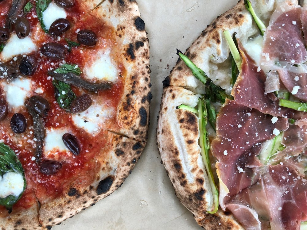 19. Inizio Pizza napoletana - Inizio's Neapolitan style pizza takes the cake, or dare we say pie, for the best Charlotte-based pizza place. If you've never been, try their classic margherita and the pistachio. Also, don't sleep on the cannoli.