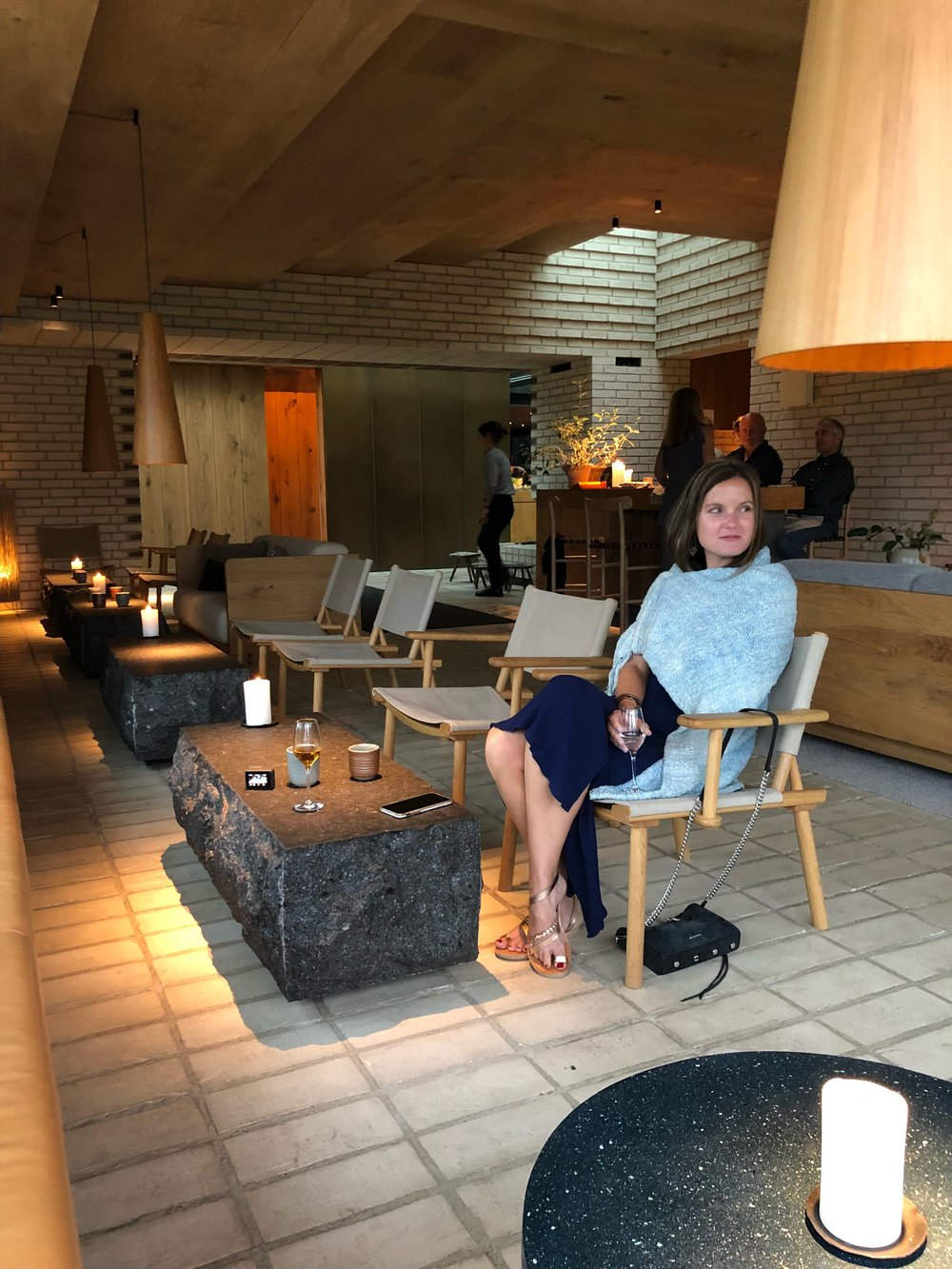 I am only truly happy in Noma's hygge room