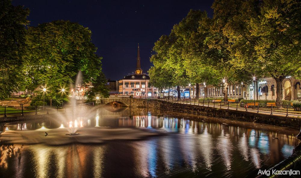 Västerås At night