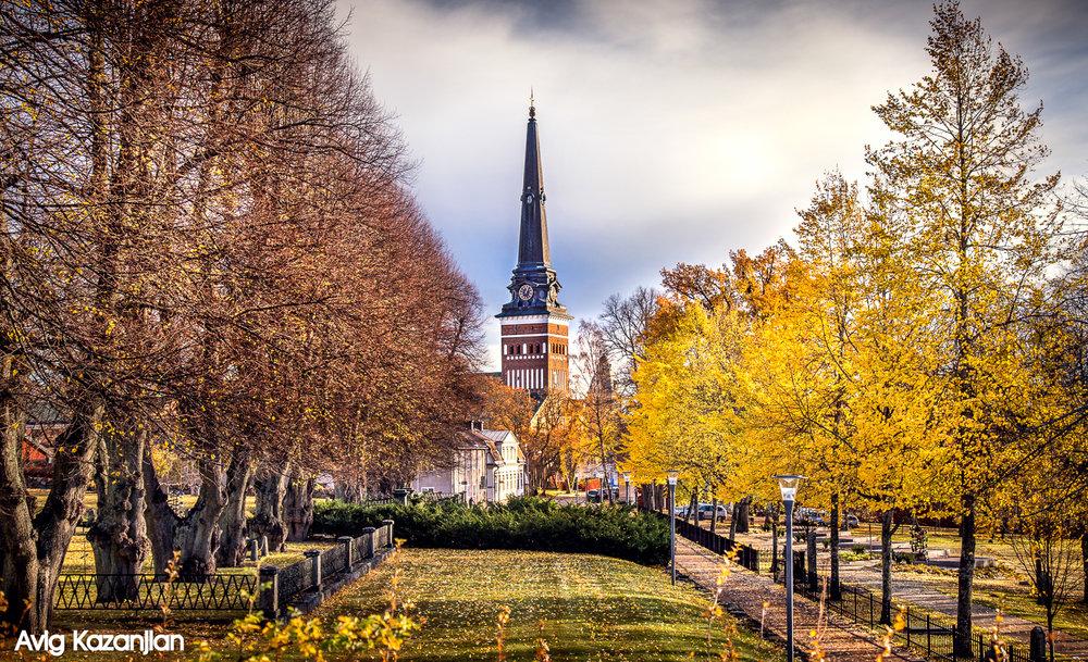 Colors of autumn in Västerås