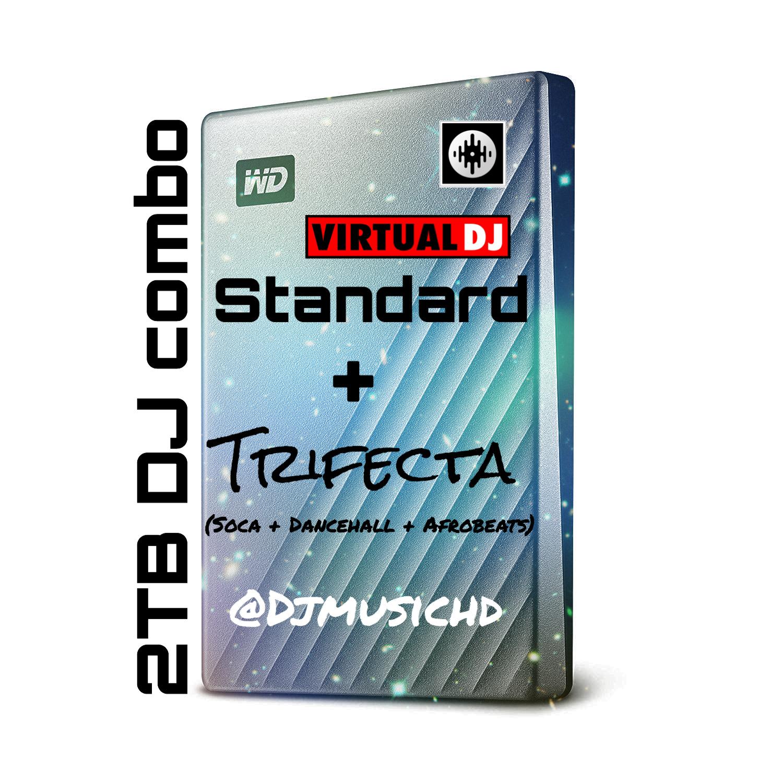 2 TB DJ COMBO (DJ STANDARD + SOCA vs DANCEHALL) — DJ Music HD