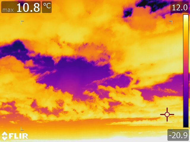 Got a chance to use a thermal camera the other day.