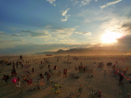 Burning Man. Source: Flickr user  pattista