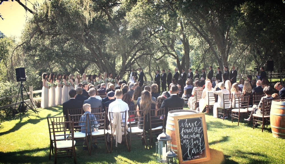 """Incredible DJ! The consummate professional. He was a lot of fun, engaging, and creative. He completed our wedding celebration! So thankful we chose him.""  -  jonathan and allyx (Lago Giuseppe winery, Templeton 5/23/15)"