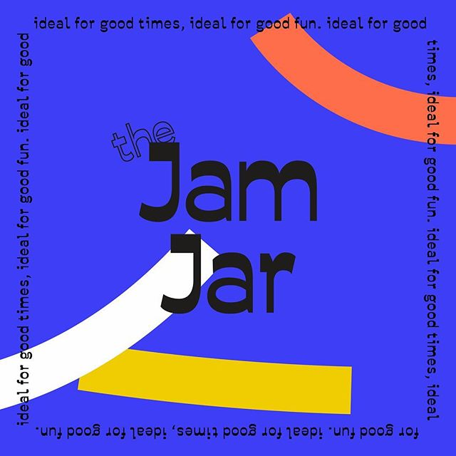 The Jam Jar. Ideal for good times, ideal for good fun. Now on Spotify 👉 go find some vibes yeah? (Link in bio, you know what to do)