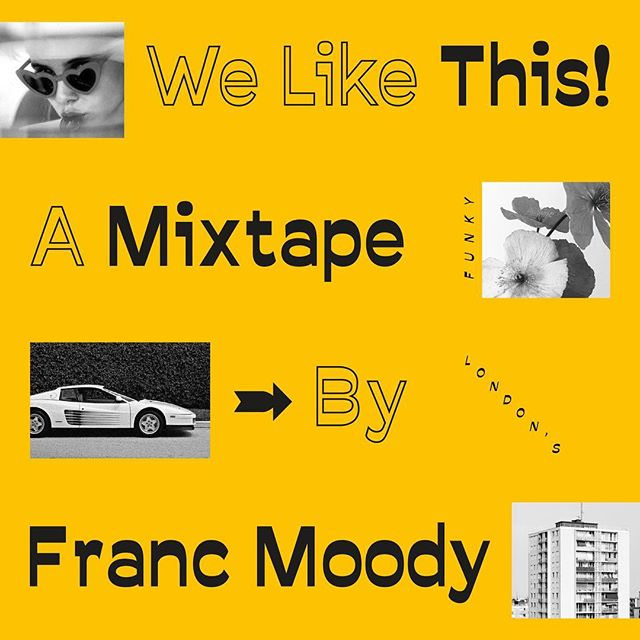 Have you heard our mixtape with the dudes @francmoody yet? Give it a spin over on Souncloud now 💘🕺