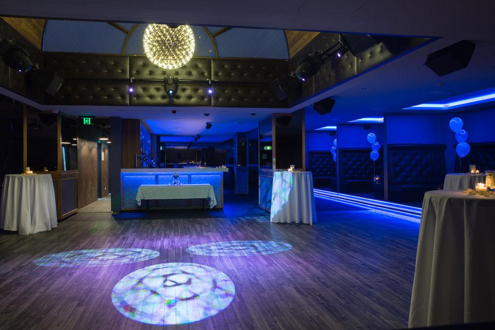 Upstairs Club Area