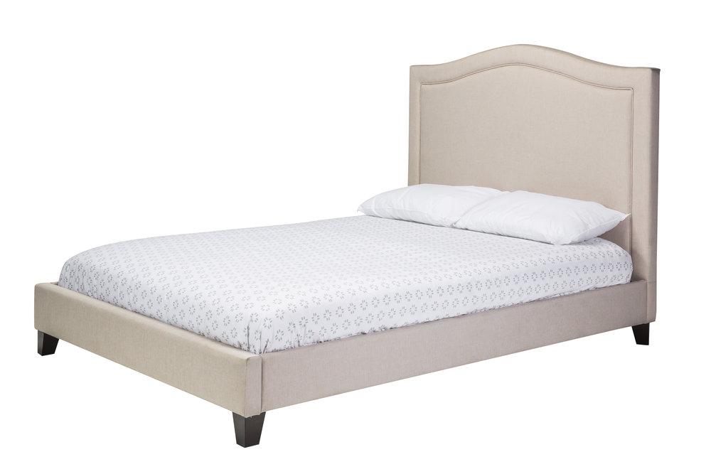 Hilton Double Bed Light Beige00418-66.JPG