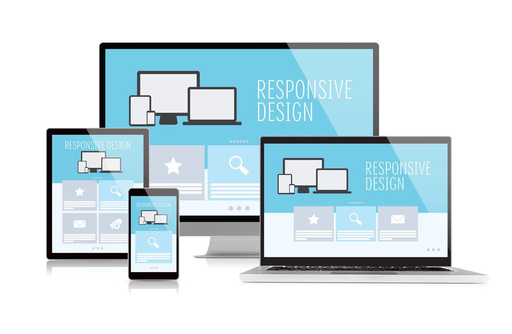RESPONSIVE WEB DESIGN -