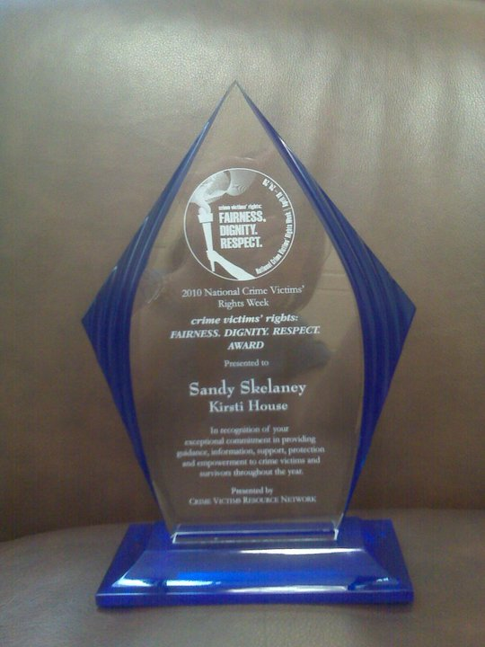 2010 OUTSTANDING VICTIM ADVOCATE