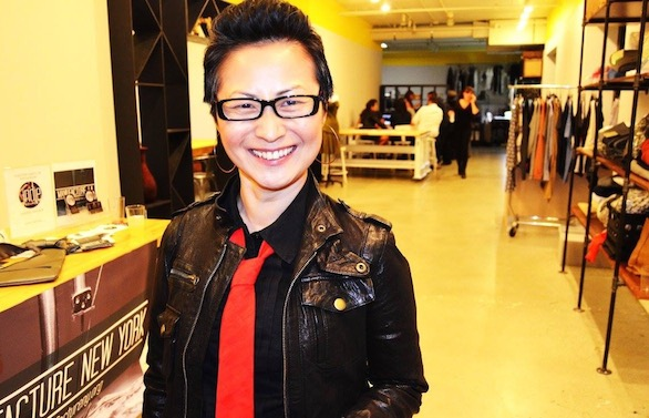 Rachel at the Manufacture New York x Indie Source x District2.co launch party for Manufacture L.A. (Image: © Owen Geronimo for Fashion Tech L.A.)