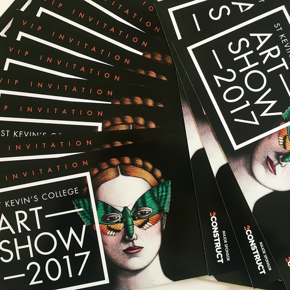 St Kevin's College     Art Show 2017  - May 26-29