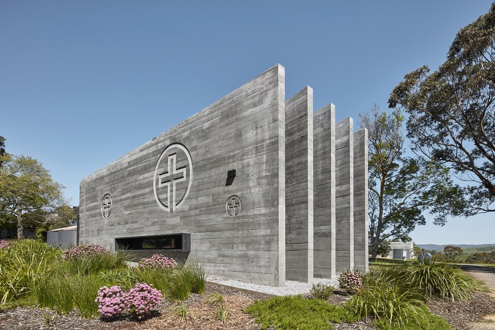 The Weekend edition of The Age recently featured an interview with our Design Director Steven Cortese, where he talks about the multi-functional fire shelter built at the Cistercian Monastery Tarrawarra Abbey, located in Yarra Glen.  Read the article on Domain to learn more!