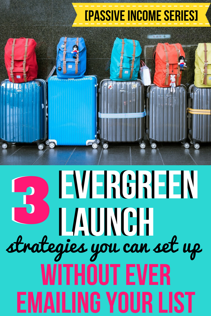 evergreen launch strategy | sales funnel | online course sales
