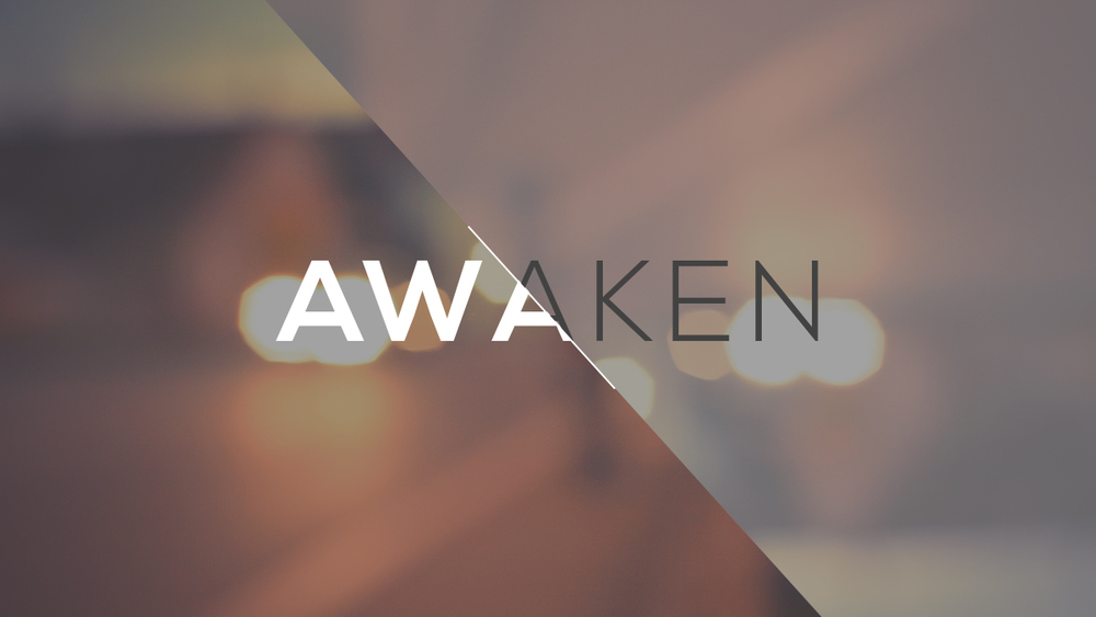 Graphic Design for Awaken Church