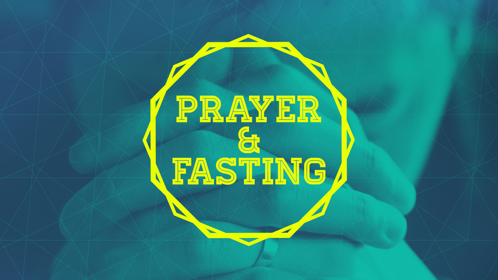 Prayer and Fasting graphics design
