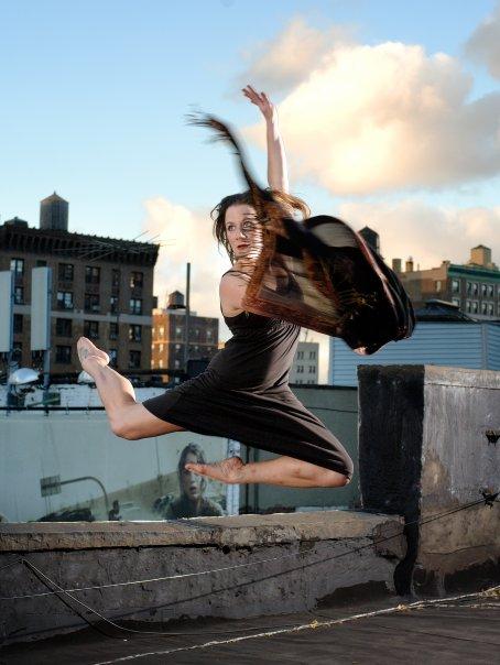 Dance that speaks. -