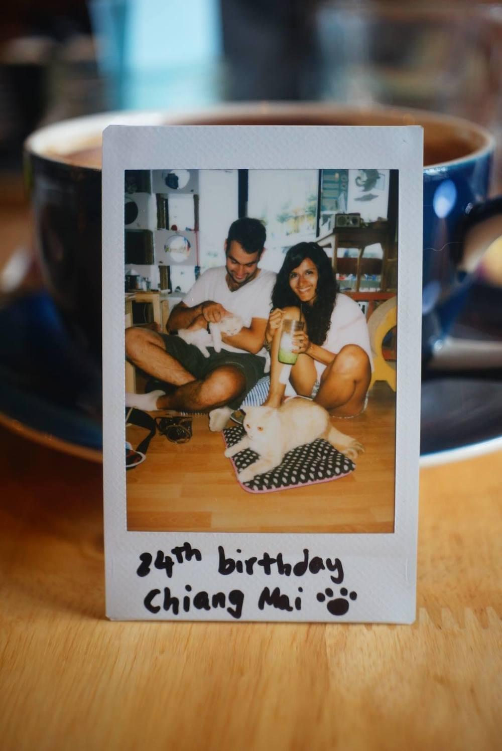 24th birthday, Chiang Mai