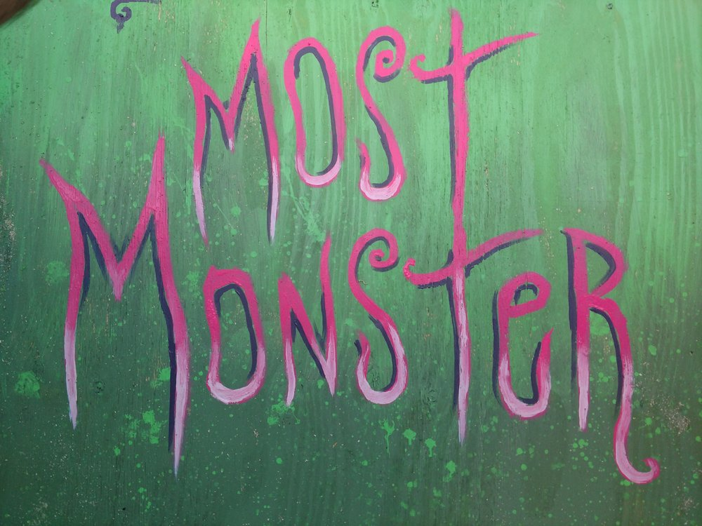 Most Monster Painted Logo