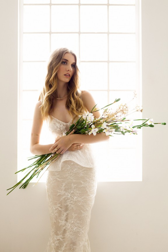 Dreamy, light filled and full of texture. Check out this style shoot featuring some of the most gorgeous gowns on Nouba xx