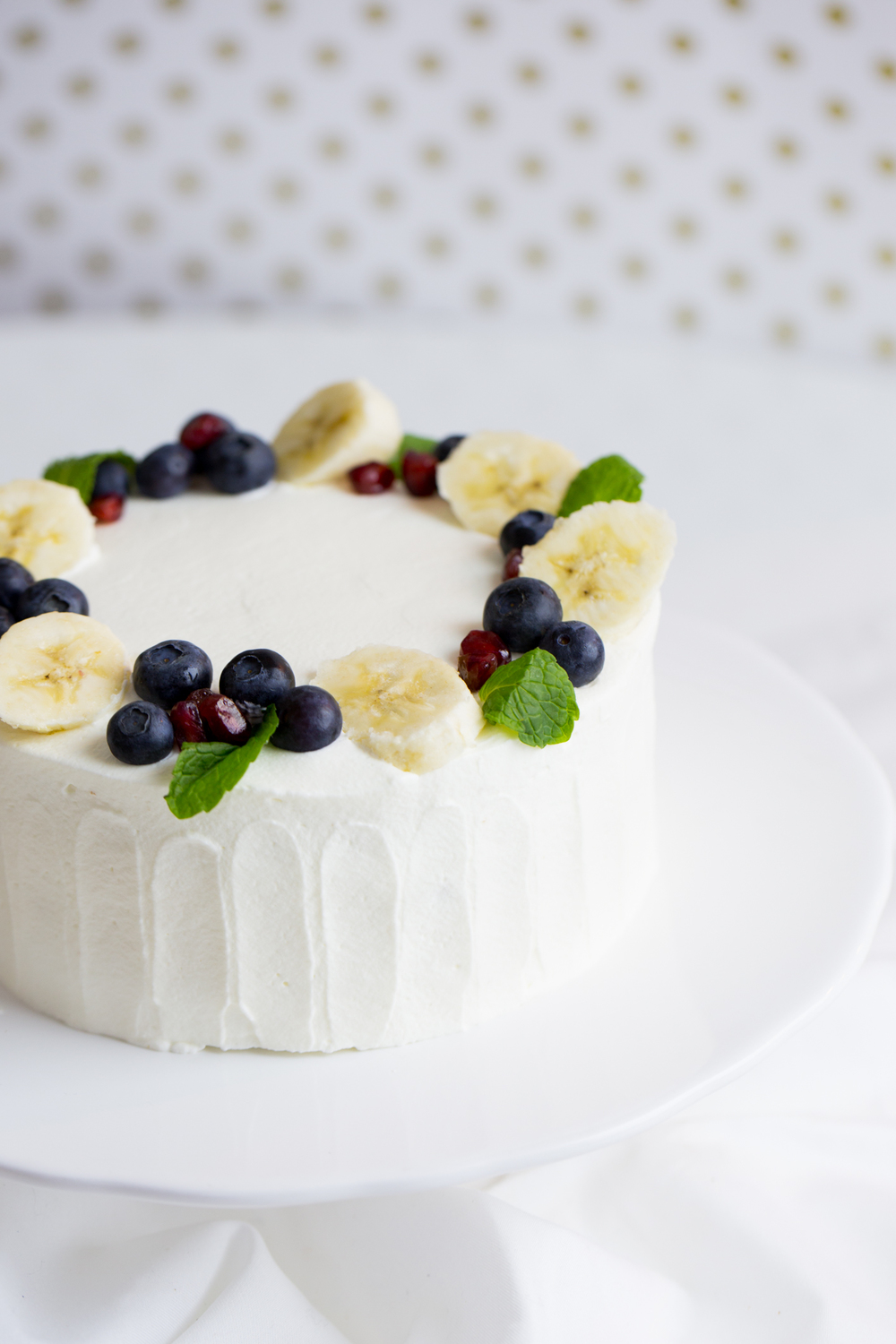 Banana Cake by Peggy's Kitchen