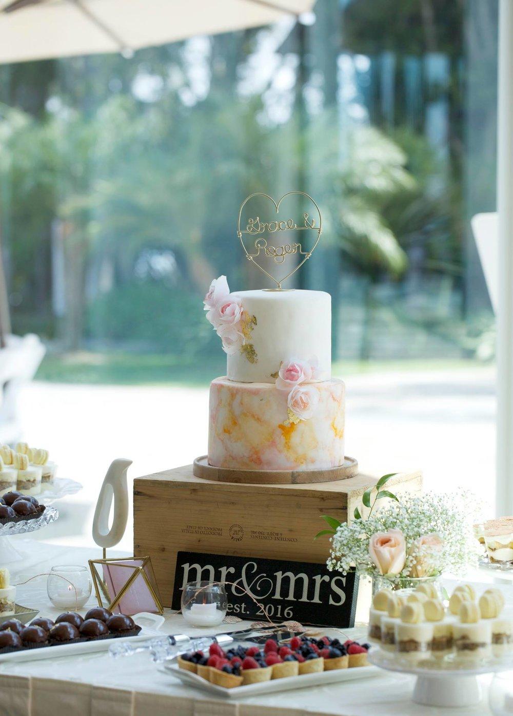 婚禮蛋糕與佈置