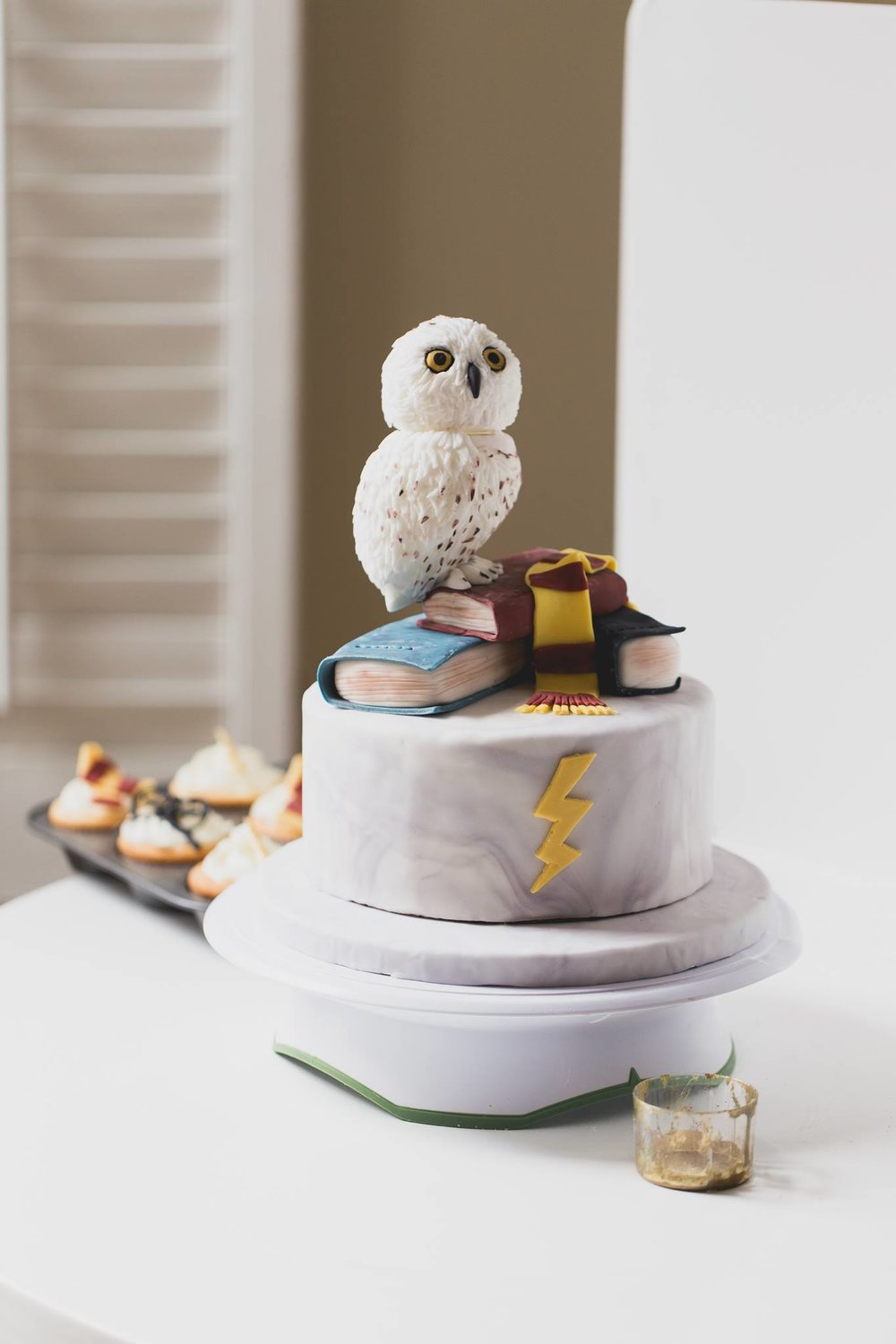 Harry Potter Cake by Peggy's Kitchen