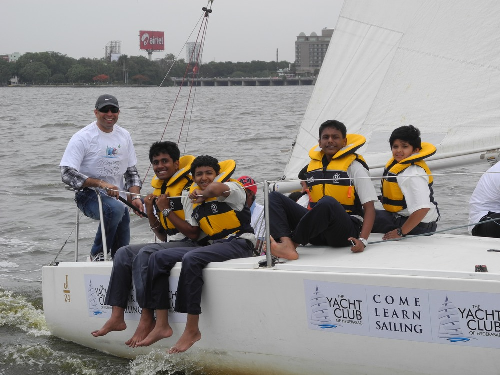 VVS LAXMAN as Chief Guest at the Monsoon Regatta