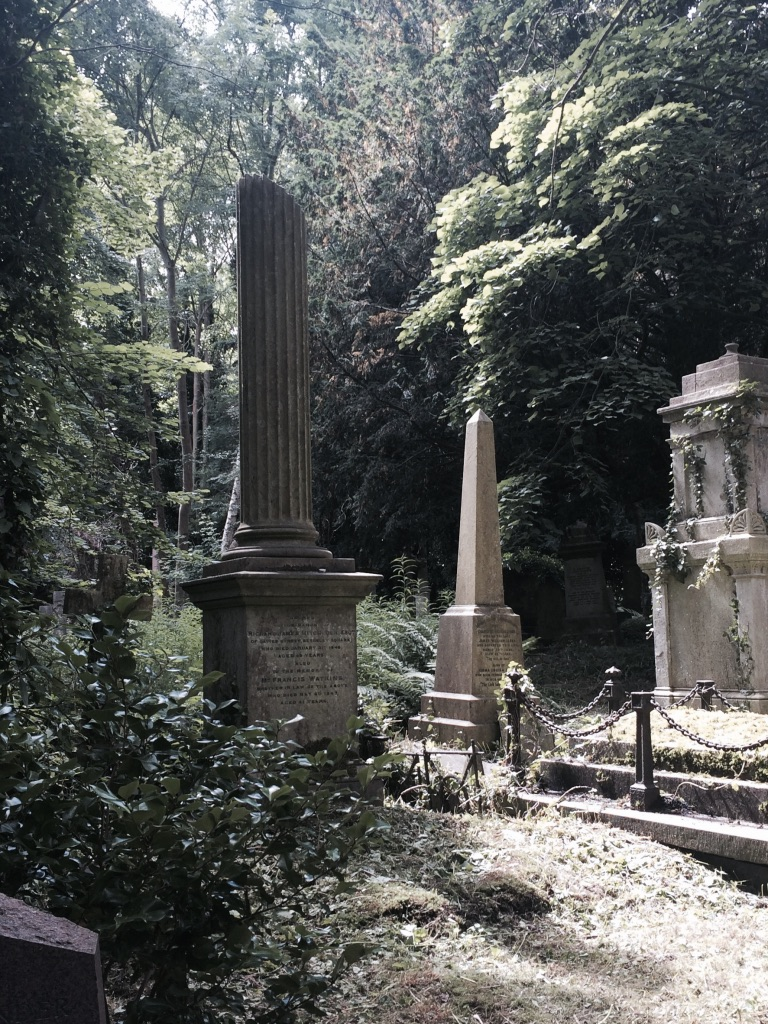 London's highgate cemetery