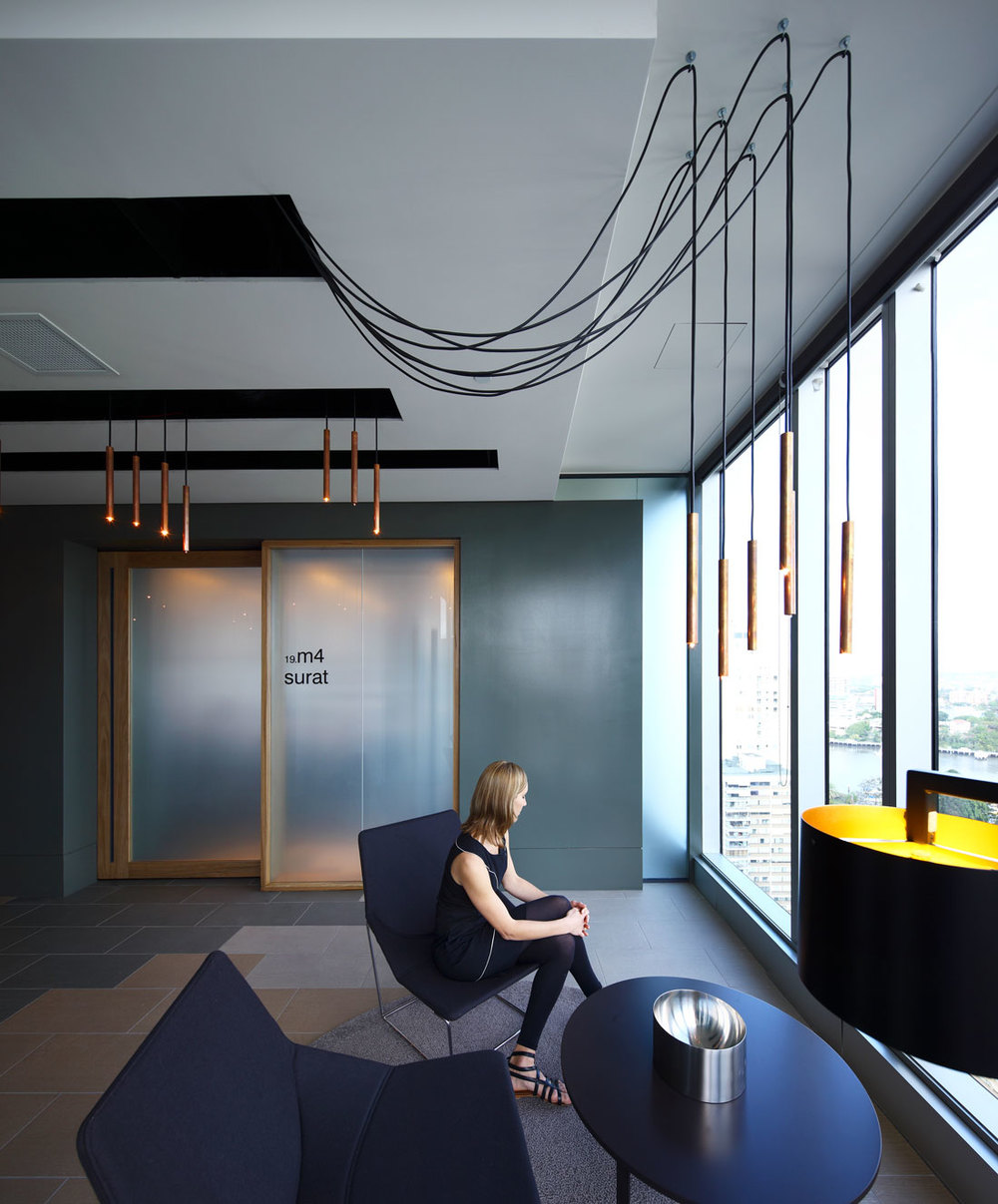 Interior Design, Brisbane,   Gold Coast, Arrow Energy Workplace  . Photographer: Aperture Architectural Photography