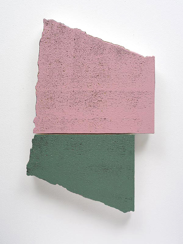 Miles Hall, Once in Union, 2013. Acrylic on perpared EPS panel 51 x 34 x 4cm. Photo: Jan Manton Art