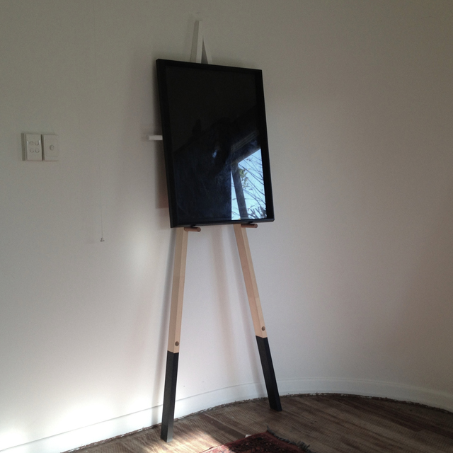 Easel designed by Paul Owen. $300. Photo: Paul Owen