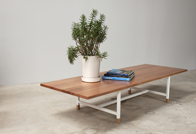 The KW Range coffee table. Photo: Mast Furniture