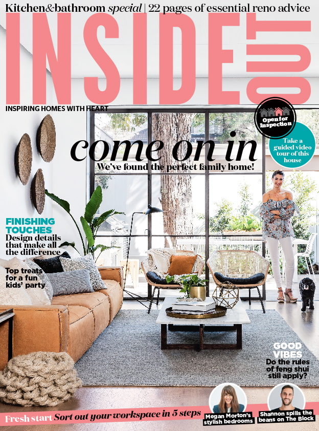 Georgia Cannon in Inside Out magazine, Interior Designer Brisbane