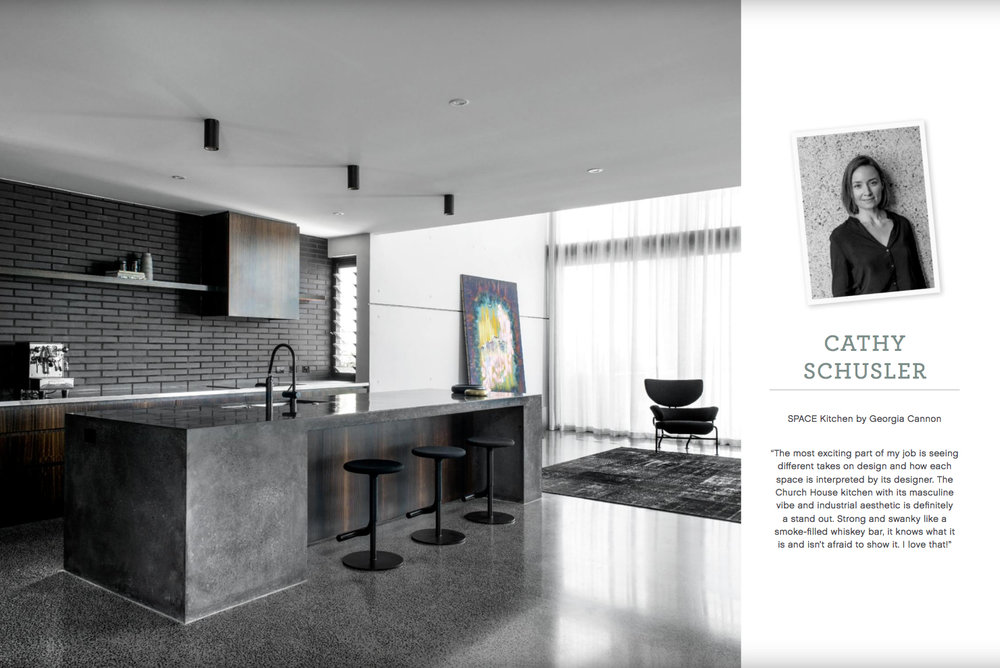 Georgia Cannon Interior Design, Brisbane, Church House in Est Magazine Issue 28, March 2018