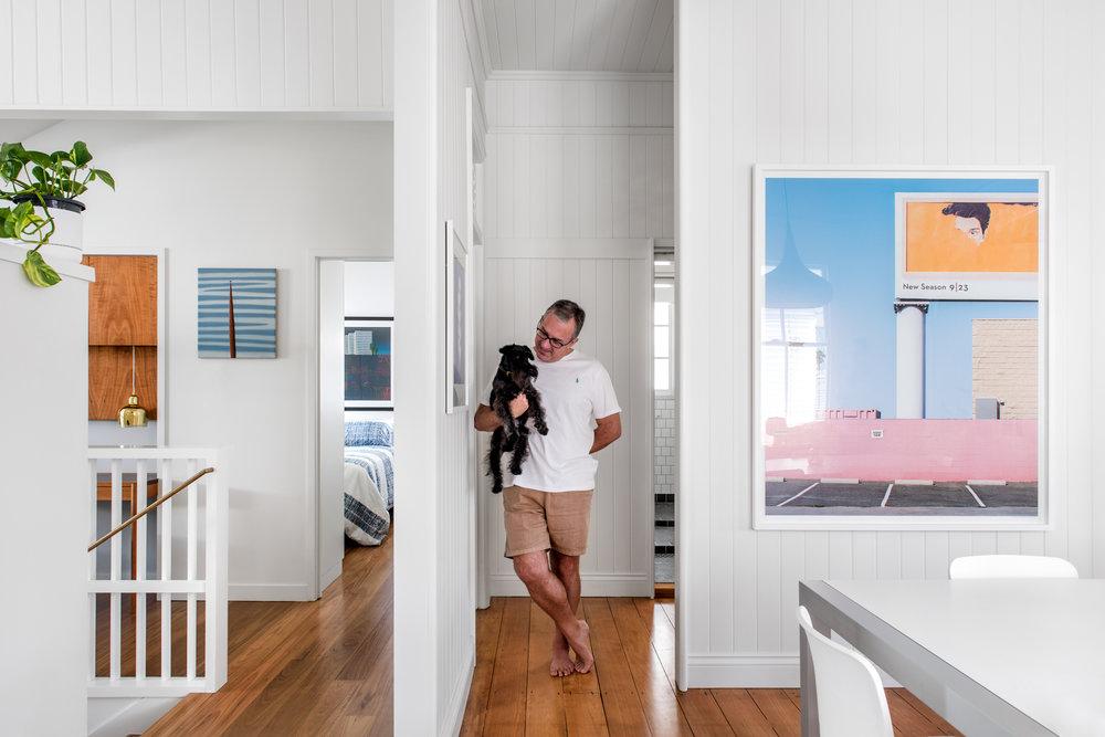 Georgia Cannon Interior Design, Rawson House, Brisbane. Photographer: Cathy Schusler