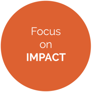 We focus on  impact  and the  end beneficiary  - all social development programs should be designed with the intention of understanding, measuring, and most importantly maximizing impact.