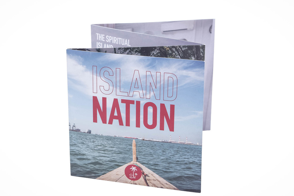 ISLAND NATION: Exhibition brochure