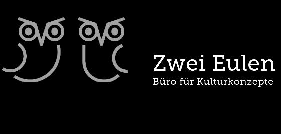 ZWEI EULEN /Büro für Kulturkonzepte Beratung Companyentwicklung Zwei Eulen sind die Kulturmanagerinnen und Kulturwissenschaftlerinnen Kaja Jakstat und Maike Tödter. Ihr Bürofür Konzeptentwicklung, Organisation und Prozessbegleitung ist in Hamburg ansässig. http://zweieulen.de/