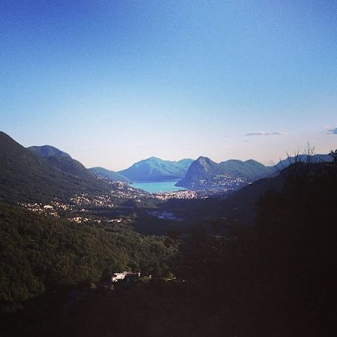 THE view, regrammed from @massimilianocanonica 👍🏻 #locandadelgiglio #fourchetteverte #valcolla #lakeview #lugano