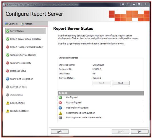 Report Config