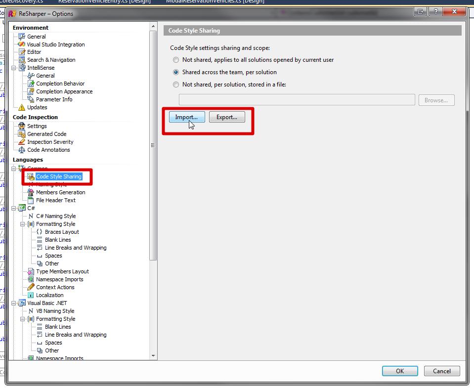 Configuring ReSharper Code Analysis — Michel Triana