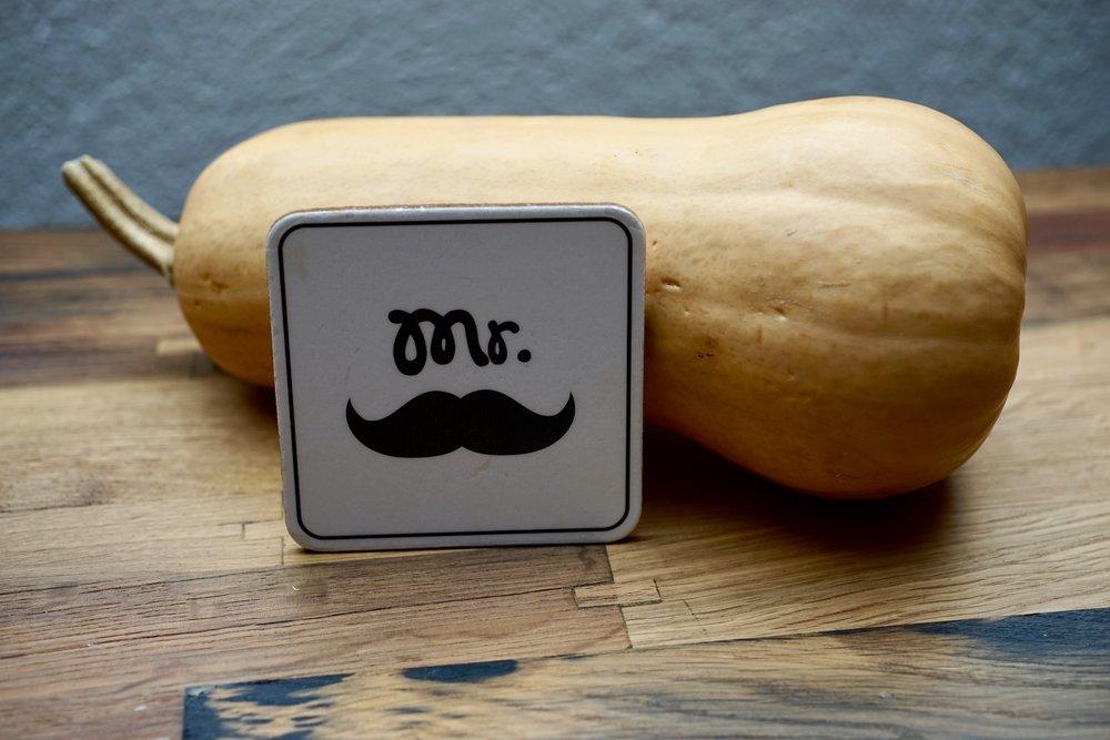 moustache butternut squash