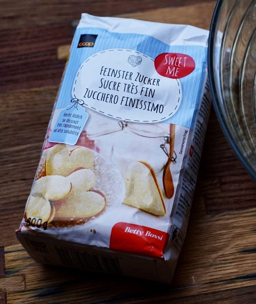 superfine sugar switzerland